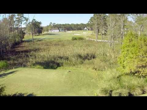 Cape Fear National Hole 10 Flyover