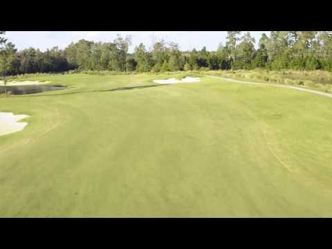 Cape Fear National Hole 7 Flyover