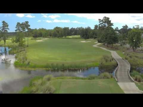 Cape Fear National Hole 6 Flyover