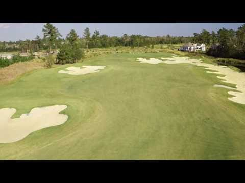 Cape Fear National Hole 5 Flyover
