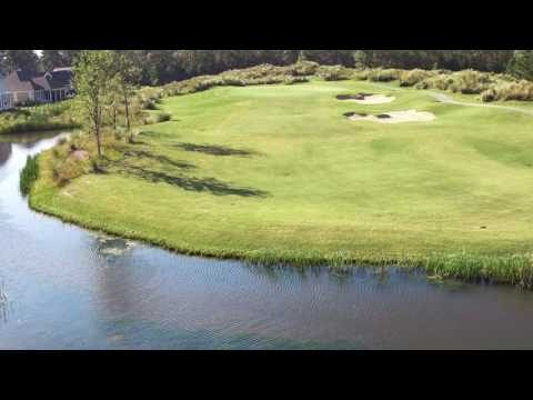 Cape Fear National Hole 4 Flyover
