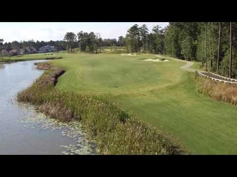 Cape Fear National Hole 3 Flyover