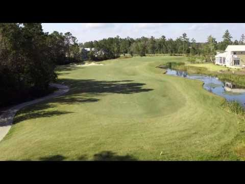 Cape Fear National Hole 2 Flyover