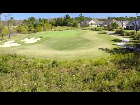 Cape Fear National Hole 17 Flyover