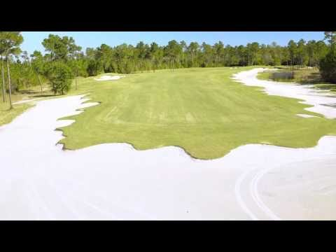 Cape Fear National Hole 16 Flyover