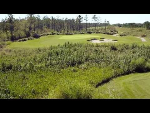 Cape Fear National Hole 14 Flyover