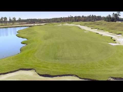 Cape Fear National Hole 13 Flyover