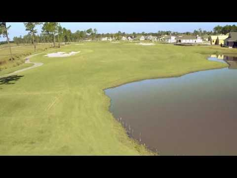 Cape Fear National Hole 11 Flyover