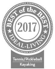 Selected for Ideal Living Kayaking in 2016 & 2017