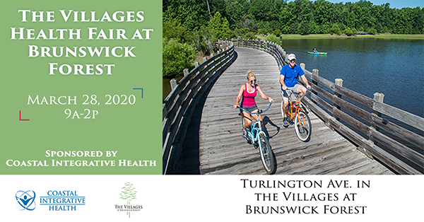 The Villages Health Fair at Brunswick Forest Flyer