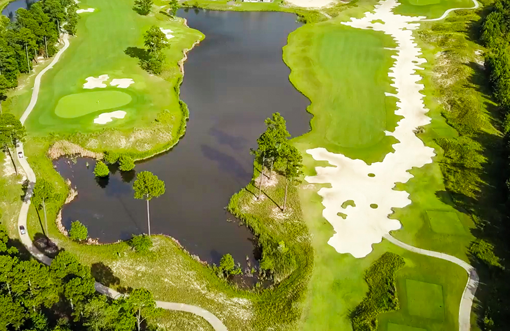 Aerial Photo of Cape Fear National Golf Course