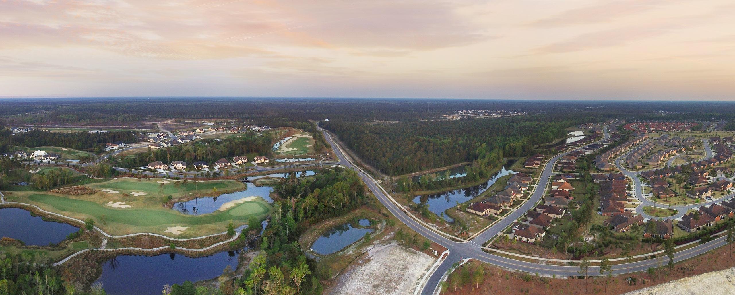 Brunswick Forest Community Aerial