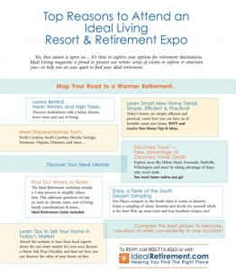 BRUNSWICK FOREST IS HEADING NORTH FOR THE IDEAL LIVING RESORT & RETIREMENT SHOWS!