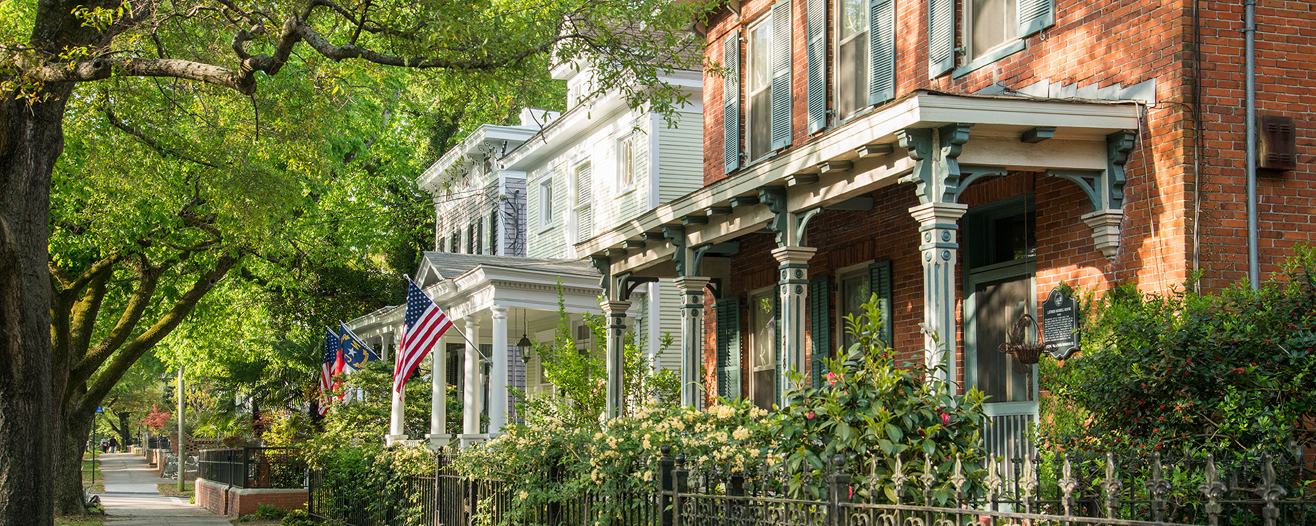 Homes in Downtown Wilmington