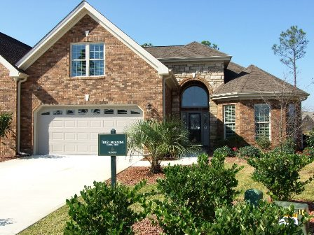 town homes at Brunswick Forest