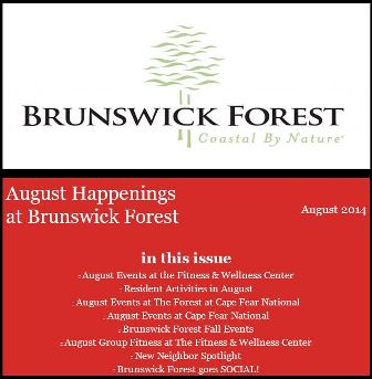 AUGUST EVENTS 2014
