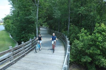 Brunswick Forest walking and biking