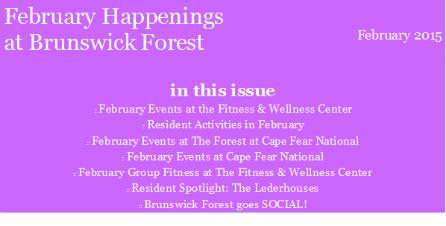 FEB EVENTS 2015