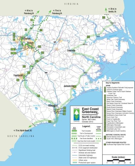 NC TRAIL MAP