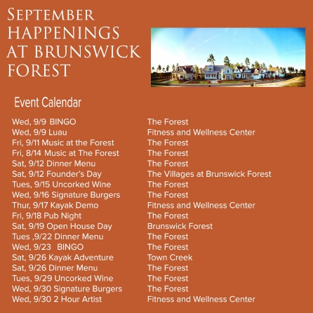 SEPT EVENTS 2015