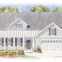 The Cooper's Bay - front elevation 1