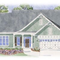 The Cooper's Bay - front elevation 2