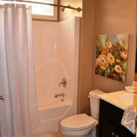Guest bathroom in the Plum Island at Brunswick Forest