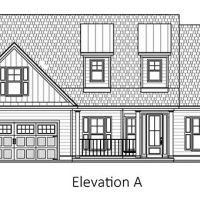 The Blue Heron II at Brunswick Forest - front elevation 1