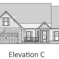 The Blue Heron II at Brunswick Forest - front elevation 3