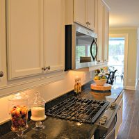 Modern amenities in the kitchen of the Blue Heron II at Brunswick Forest