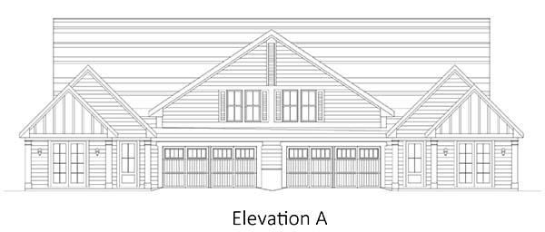 The Drayton II at Brunswick Forest - front elevation 1