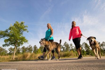 WOMEN DOG WALKERS
